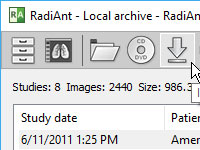 RadiAnt DICOM Viewer BETA 4.9.15
