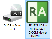 How to create a DICOM CD with RadiAnt DICOM Viewer CD/DVD