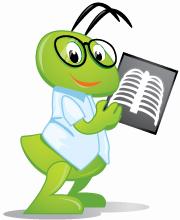 RadiAnt DICOM Viewer Mascot Ant