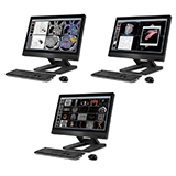 Multiple PC workstations